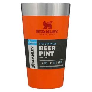 Copo Térmico Stanley Orange Beer Pint 473 Ml