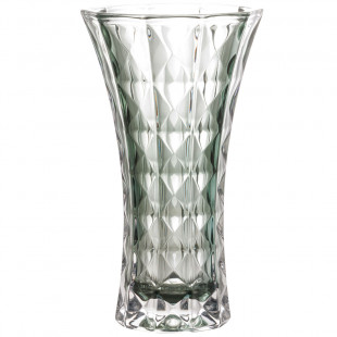 Vaso De Cristal Diamant Verde Wolff