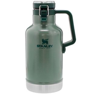 Garrafa Térmica Stanley Classic Vacuum Hammertone Green 1.9L