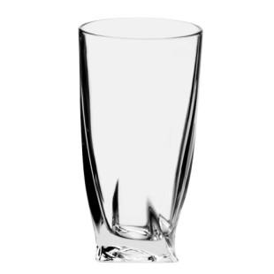 Jogo De 6 Copos Cristal Bohemia Quadro Highball 350 ml