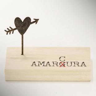 Bloco de Frase Mini Escultura de Mesa Amarcura Les Maries