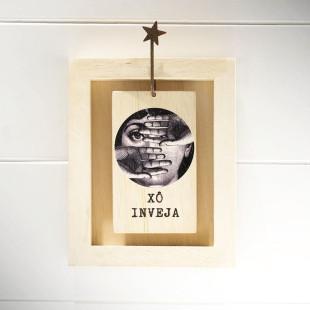 Bloco Frases Escultura De Mesa Xô Inveja Les Maries