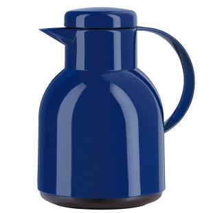 Garrafa Térmica De 1 Litro Azul Quick Press Samba  Emsa