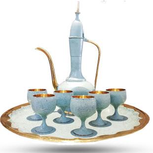Jogo de Taças e Jarra Istambul Tiffany