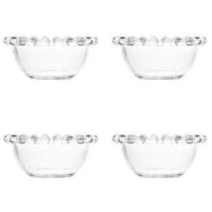 Jogo 4 Bowls De Cristal Pearl Wolff