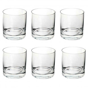 Jogo 6 Copos De Whisky Cristal Barware Bohemia