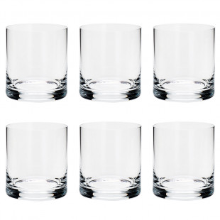 Jogo 6 Copos Para Whisky Cristal Set - Bar Favorit Bohemia 310ml