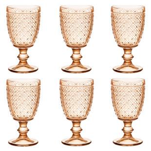 Jogo 6 Taças De Vidro Vitrum Orion Chá