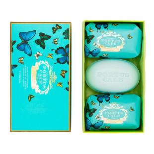 Kit 3 Sabonetes Em Barra Portus Cale Butterflies Castelbel