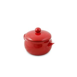 Mini Caçarola De Cerâmica Ceraflame Premiere Vermelha