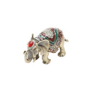 Mini Porta Joias Elefante