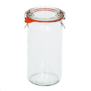 Pote de Vidro Weck Cilíndrico 340 ml