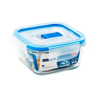 Pote Quadrado De Vidro Pure Box Luminarc 380 ml