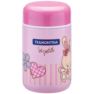 Pote Térmico Tramontina Le Petit Rosa 400 ml