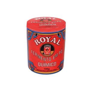 Pote de Cerâmica Fermento Royal Pequeno com Tampa