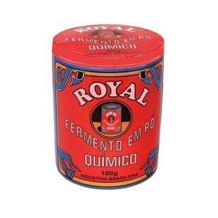 Pote de Cerâmica Fermento Royal Grande com Tampa