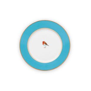 Prato de Pão Azul Pip Studio Love Birds