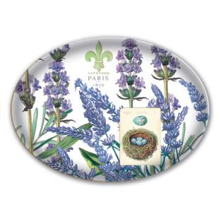Saboneteira De Vidro Lavender Rosemary Michel Design Works