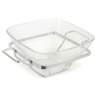 Saladeira De Vidro Quadrada Andrea Forma