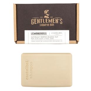 Shampoo Em Barra De Capim-Limão Traveller Gentlemans Castelbel