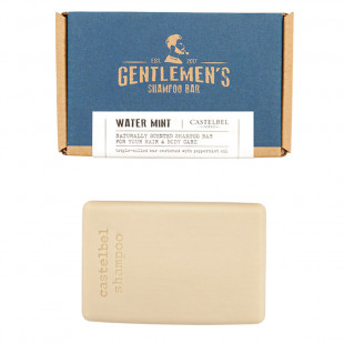 Shampoo Em Barra De Menta Traveller Gentlemans Castelbel