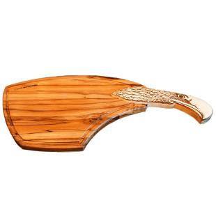 Tábua Teca Gourmet Águia Wood Design