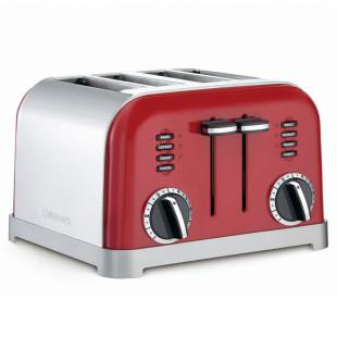 Torradeira para 4 Fatias Red Metalic Cuisinart 127V