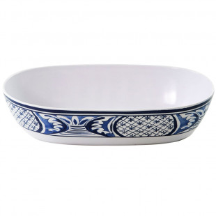 Travessa Oval Melamina Azulejo Português