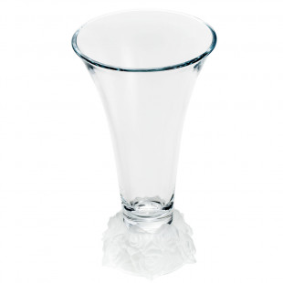 Vaso de Cristal Bohemia Rose