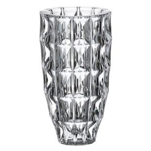 Vaso De Cristal Diamond Bohemia