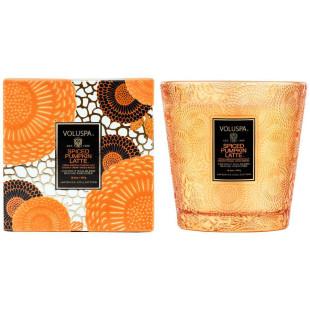Vela Vaso 2 Pavios Spiced Pumpkin Latte Voluspa 60H