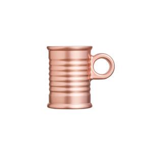 Xícara De Café Vidro Rose Gold Moi Luminarc