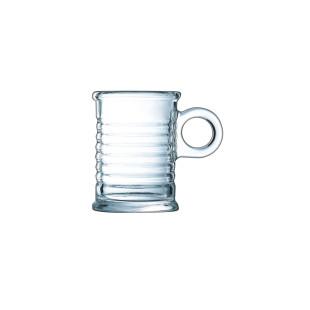 Xícara De Café Vidro Transparente Moi Luminarc
